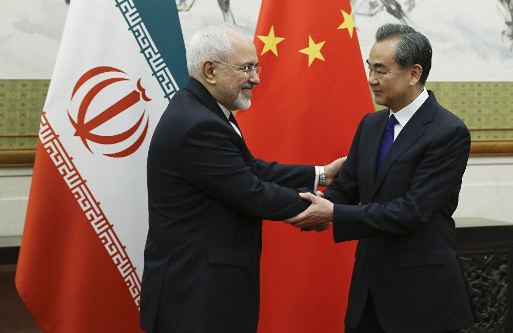 中国外长王毅与伊朗外长扎里夫5月13日在北京举行会谈