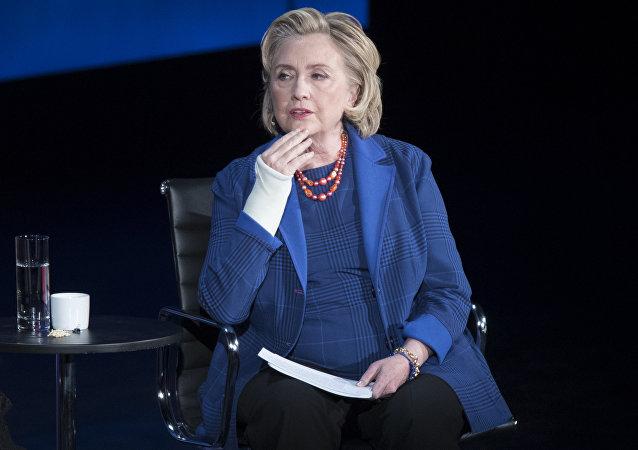 希拉里·克林顿支持澳对中国的指责