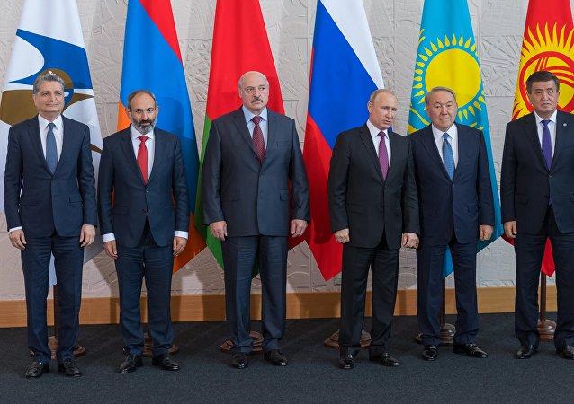 欧亚经济委员会最高理事会会议