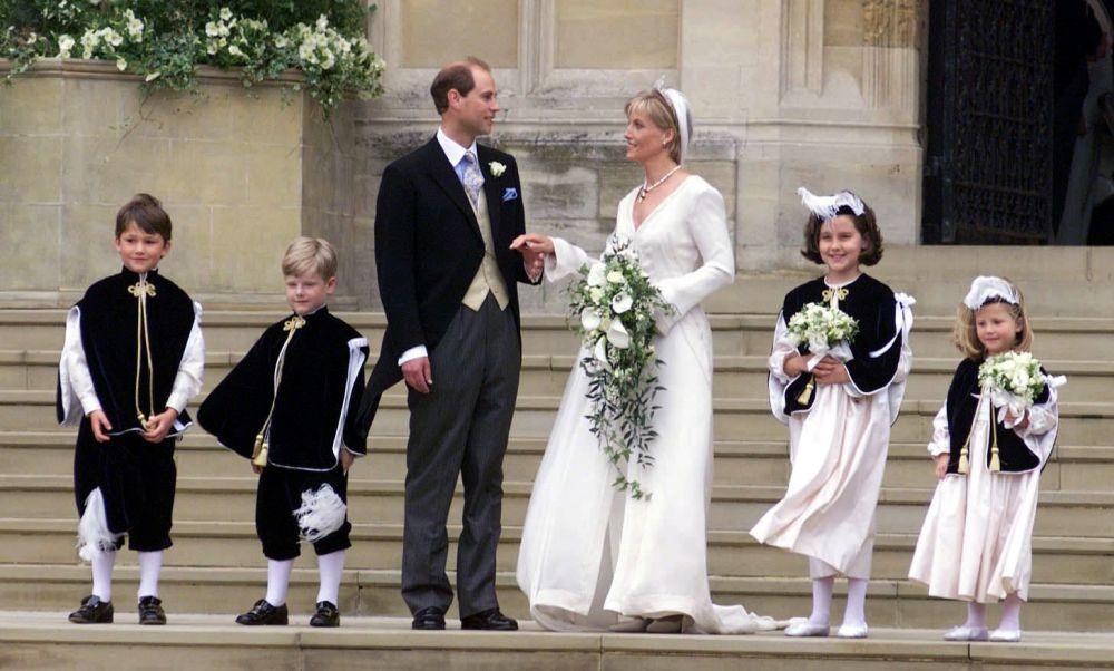 伊麗莎白二世的小兒子愛德華王子與妻子