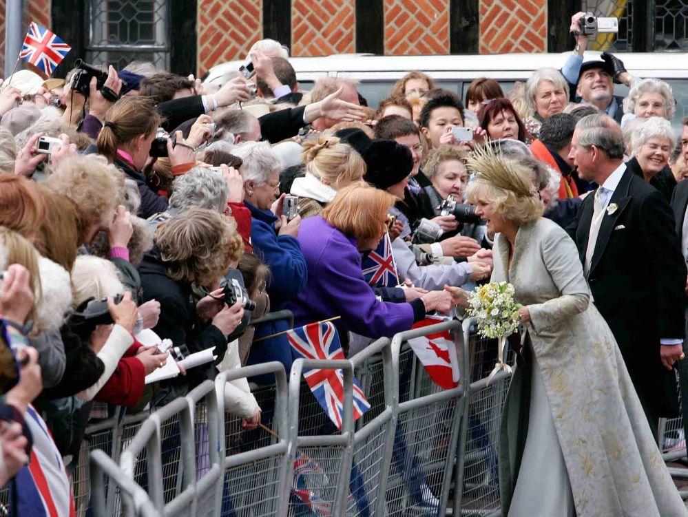 查爾斯王子與妻子卡米拉