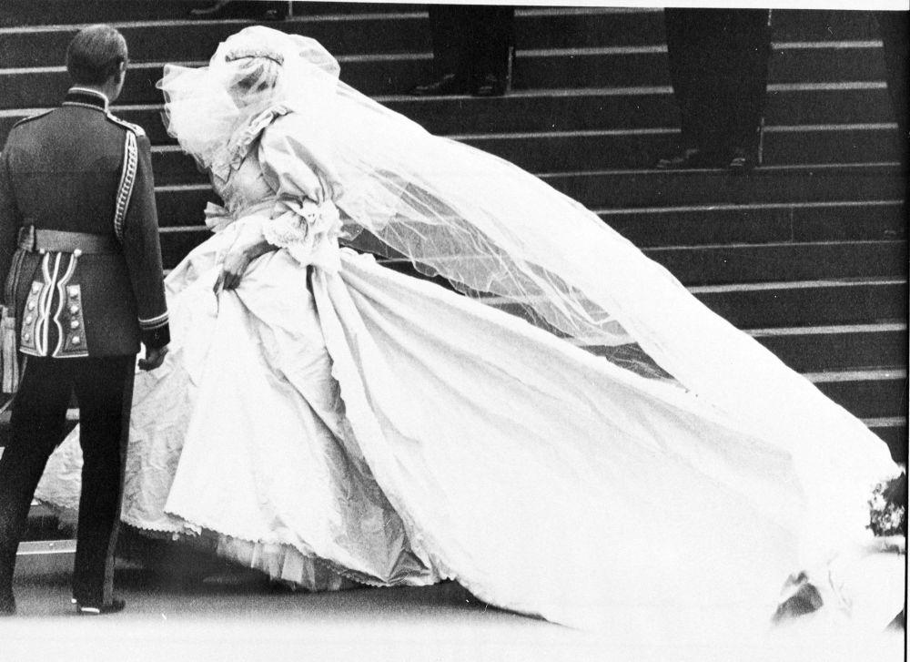 婚禮上的戴安娜王妃
