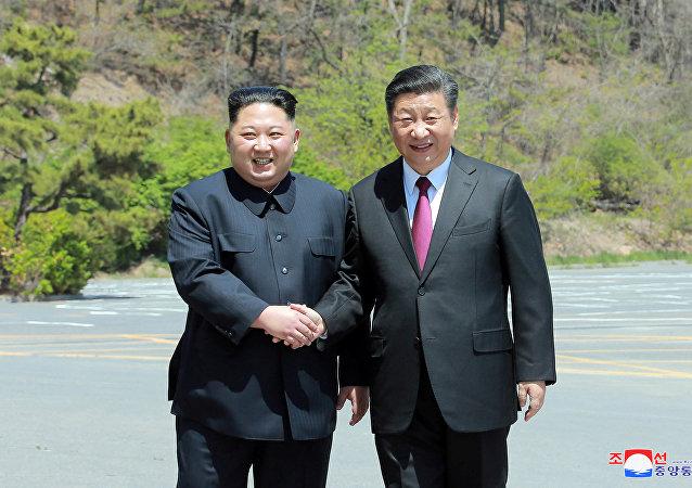 中国或先于美国给予朝鲜经济援助