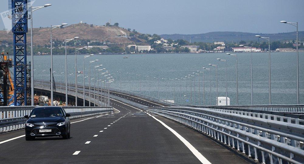 俄外交部並不掌握有關烏準備破壞克里米亞大橋的信息