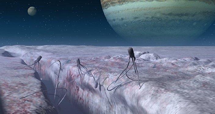 """天文学家在""""欧罗巴""""上发现了新的间歇喷泉活动迹象"""