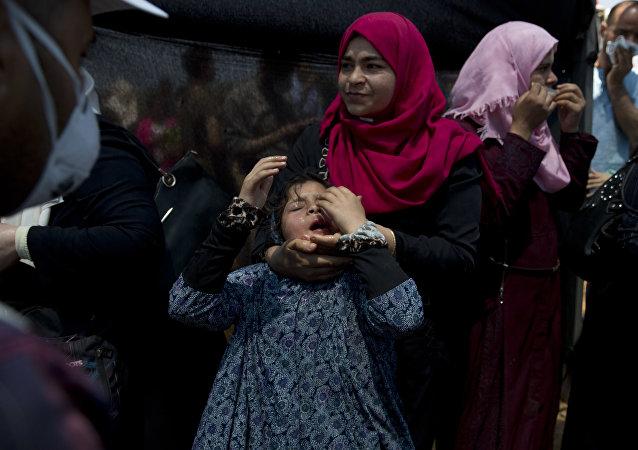 克宮對巴以衝突造成數十名巴勒斯坦人死亡深表不安