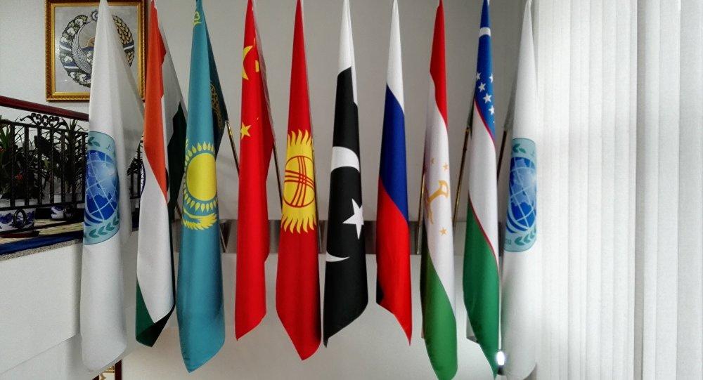 上合组织成员国国旗