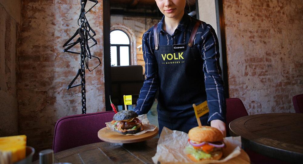 VOLK burgers餐館菜品
