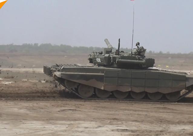 國際軍事大賽-2018: 俄羅斯「坦克兩項賽」和「蘇沃洛夫突擊賽」開幕
