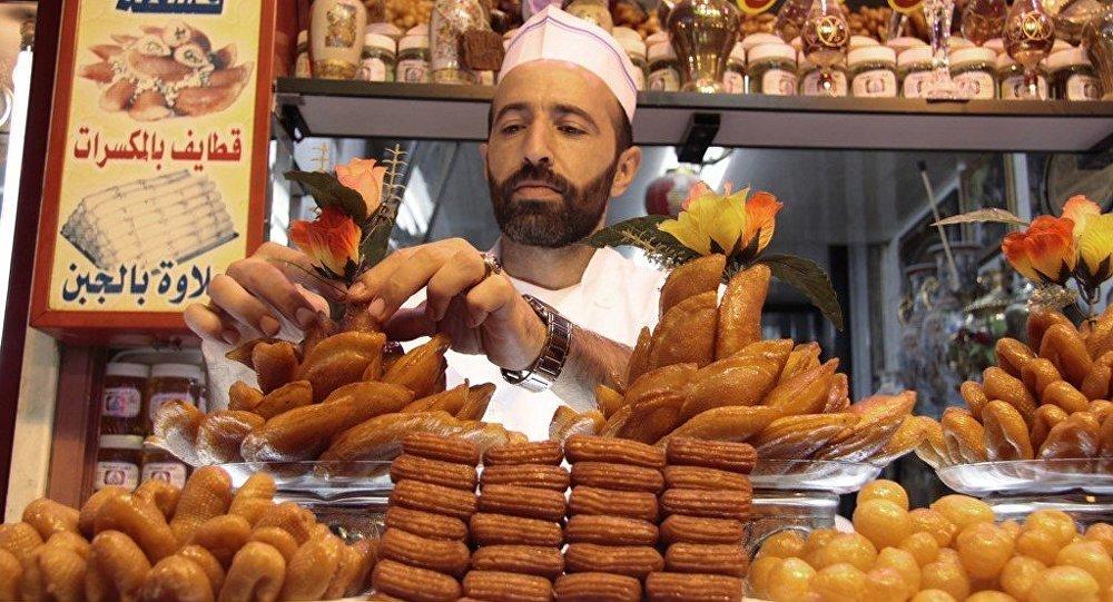 敘利亞一家糖果公司計劃擴大在俄銷售