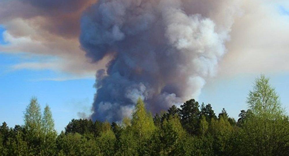 俄烏德穆爾特共和國火災明火被撲滅