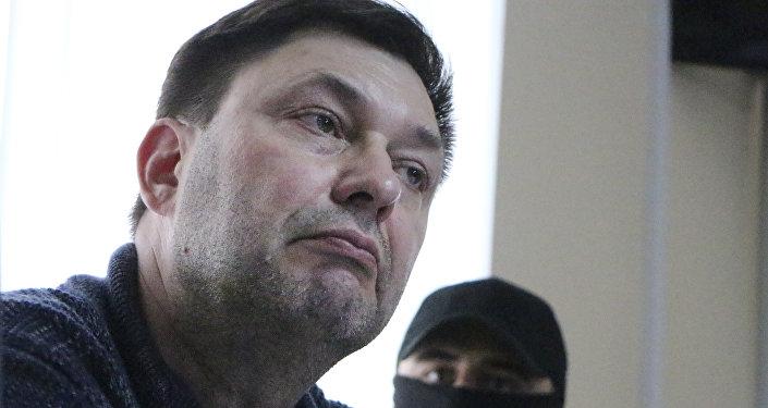 维辛斯基在赫尔松法院讲述其被拘留过程