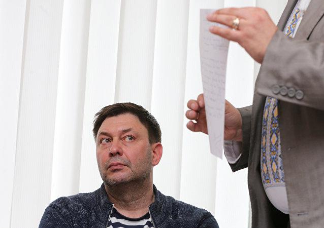乌议会准备考虑用维辛斯基交换在俄罪犯