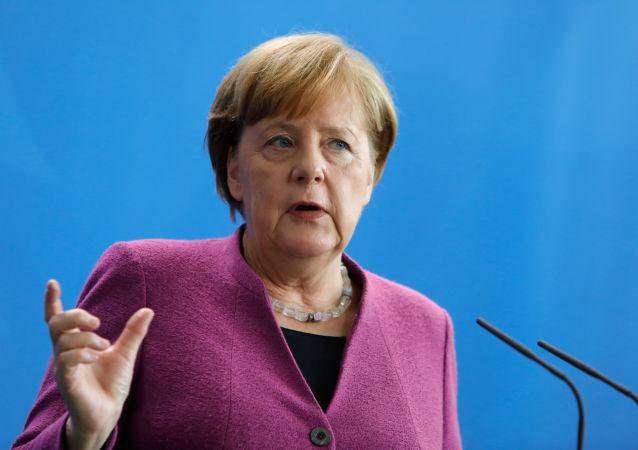 Канцлер Германии Ангела Меркель