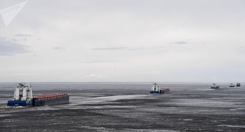 滨海边疆区可能推出冰上旅游路线