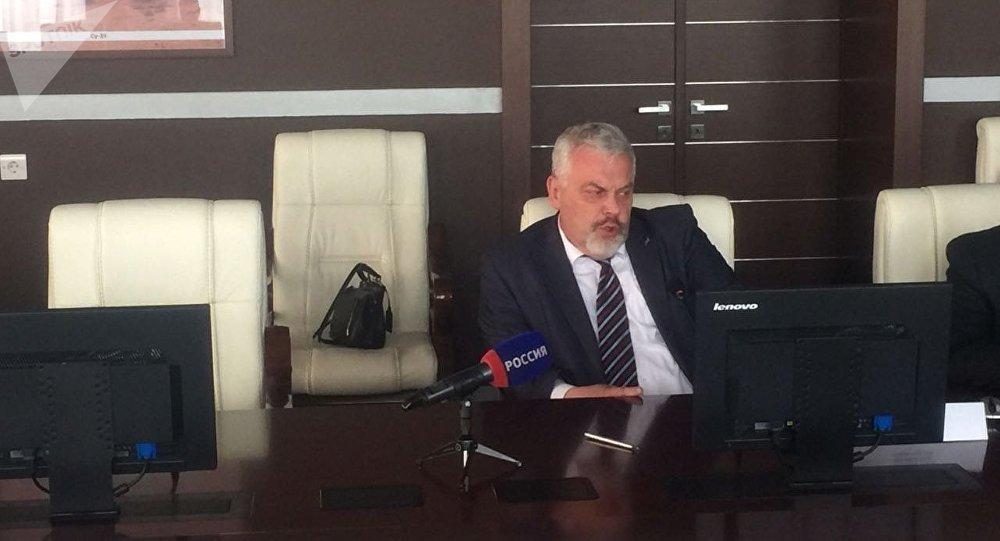 乌兰乌德航空工厂(U-UAZ)总工程师谢尔盖·索罗明