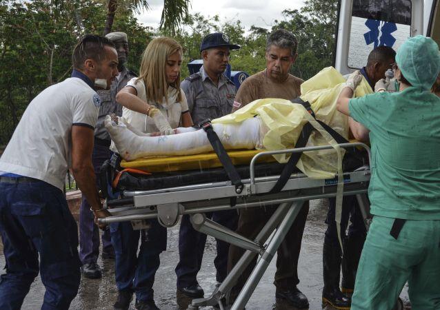 古巴空難的三名幸存者其中一人不治身亡
