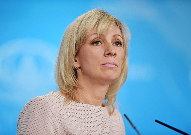 俄羅斯外交部新聞發言人瑪利亞·扎哈羅娃