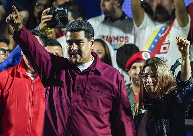 马杜罗连任委内瑞拉总统