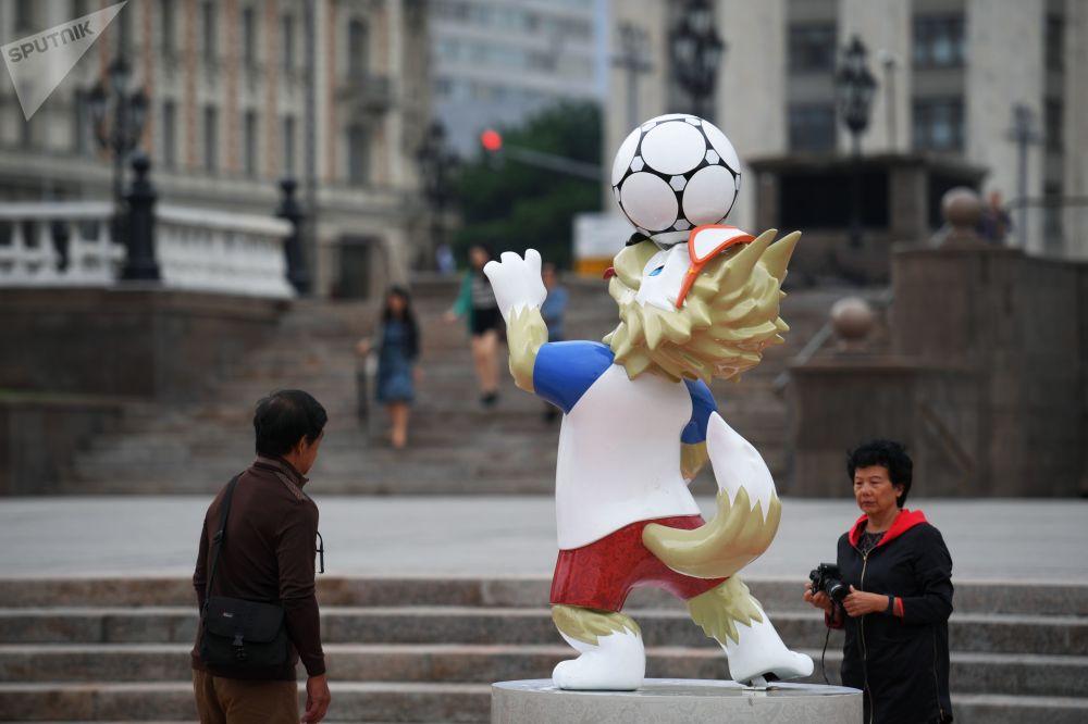 莫斯科盛裝迎世界杯