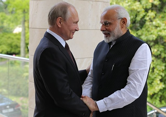 普京:俄印两国关系注入新活力