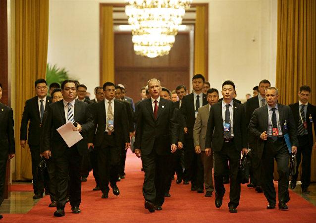 俄安全會議秘書與中國公安部部長就聯合反恐問題舉行會談