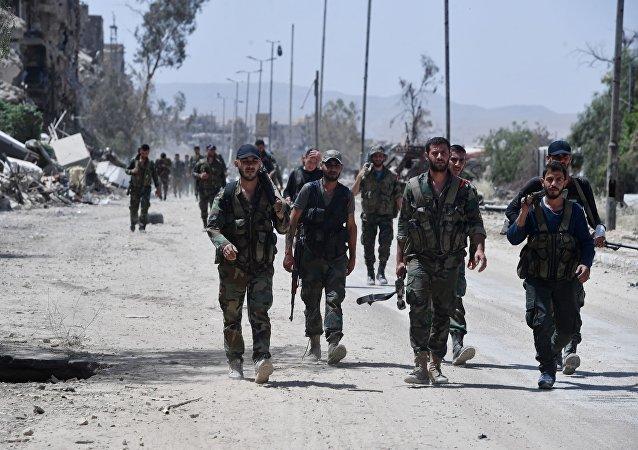IS在叙南部发动的袭击导致200多人死亡