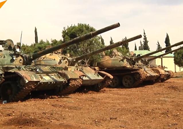 敘利亞霍姆斯省現外國雇傭兵痕跡