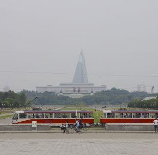 中國外交部代表在平壤與朝鮮外長舉行會談
