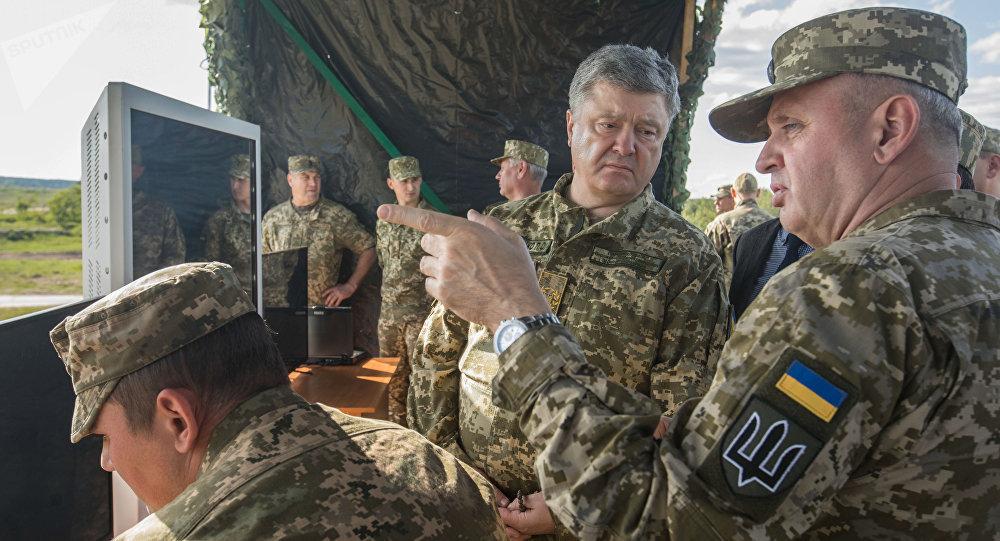 乌克兰总统彼得·波罗申科在