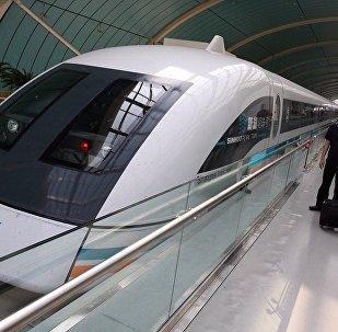 中國新型磁浮列車試驗成功 時速可達160公里以上