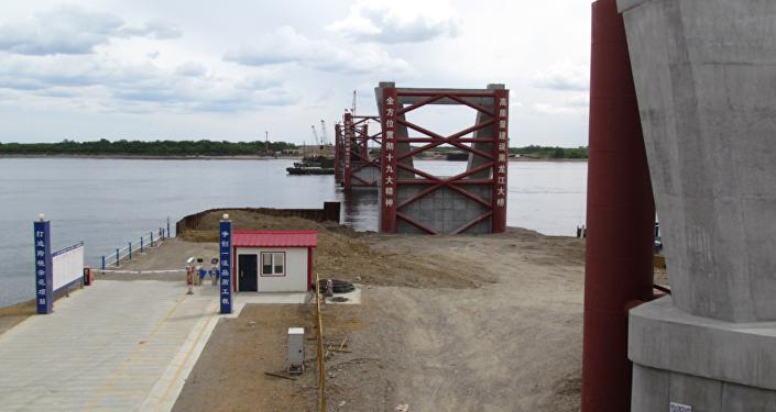 黑河—布拉戈维申斯克跨境大桥将于2019年初合拢