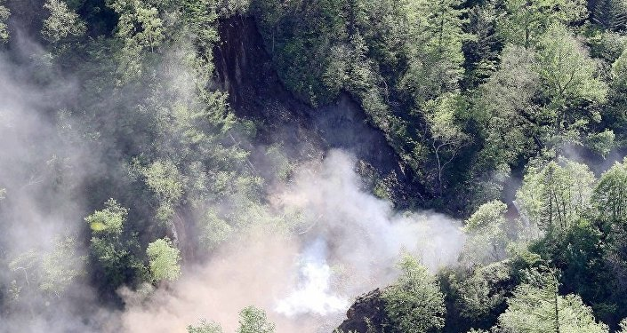 朝鮮稱豐溪里核試驗場徹底被毀