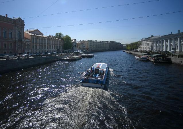 俄羅斯特維爾龍舟隊獲得2018年聖彼得堡龍舟賽第一名