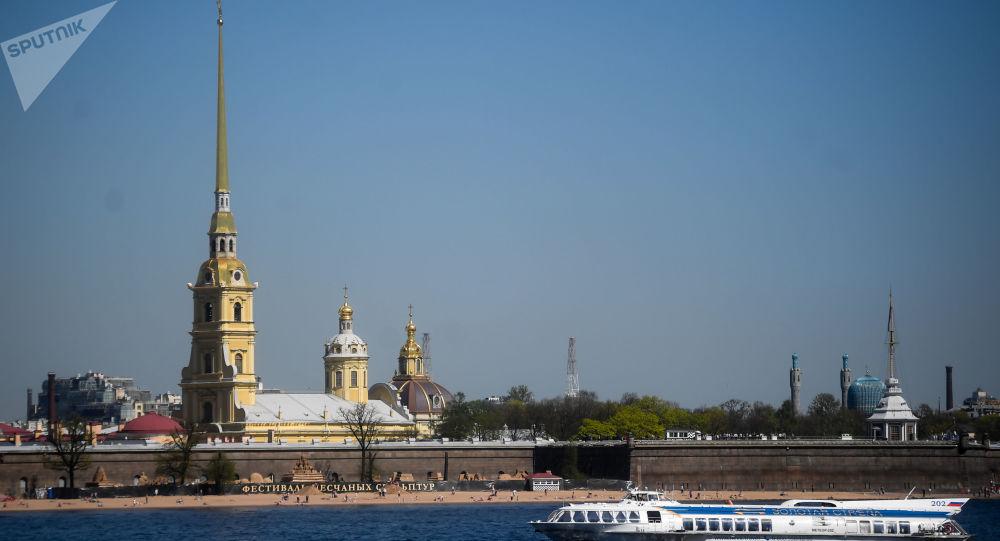 圣彼得堡彼得保罗要塞仪仗表演将用中文讲解
