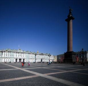 冬宫圣,彼得堡