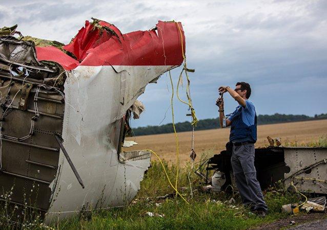 克宫发布消息称,俄坚决驳斥关于涉嫌马航MH17客机失事的指控