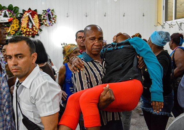 媒體:古巴空難所有遇難者屍體都已辨認出來