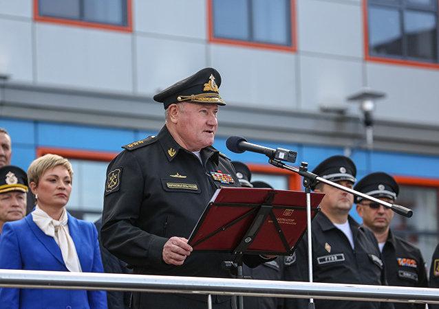 俄海军总司令弗拉基米尔·科罗廖夫