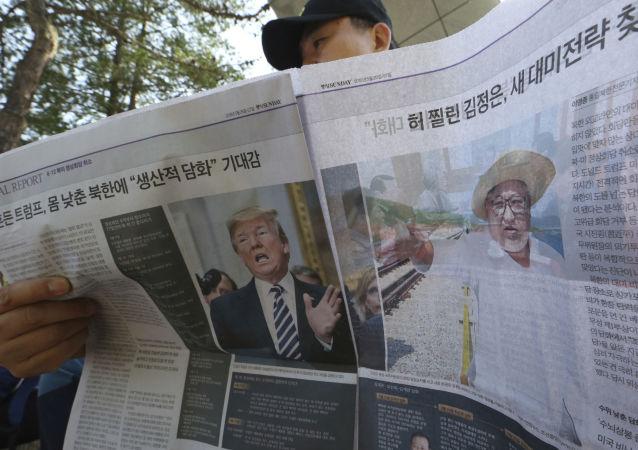美副国务卿与中国驻美大使讨论美朝首脑会晤问题