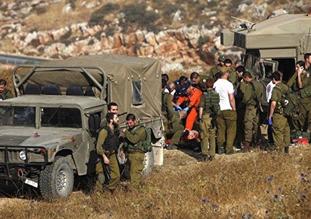 巴勒斯坦武装分子向以南部发射25枚迫击炮弹