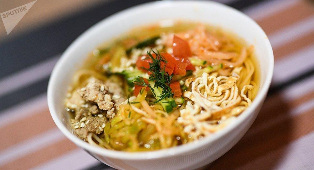 麴須面(一種韓國麵條)