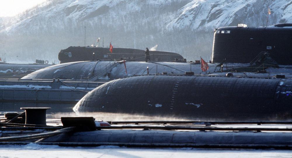 駐勘察加和濱海邊疆區軍人慶祝俄潛艇部隊成立週年紀念日