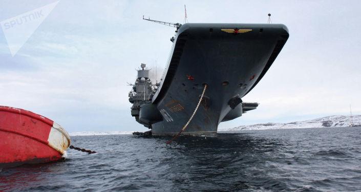 俄羅斯唯一現役航母「庫茲涅佐夫海軍元帥」號