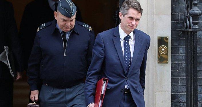 英國國防大臣加文·威廉姆森