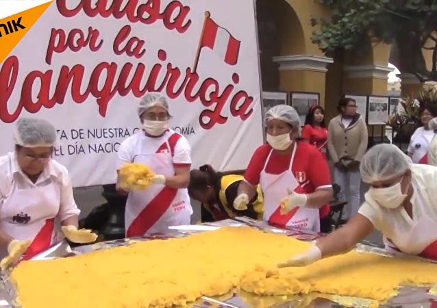 秘魯製造出可食用的球衣