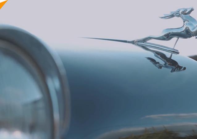 專為普京製造的「伏爾加」牌汽車在聖彼得堡開售