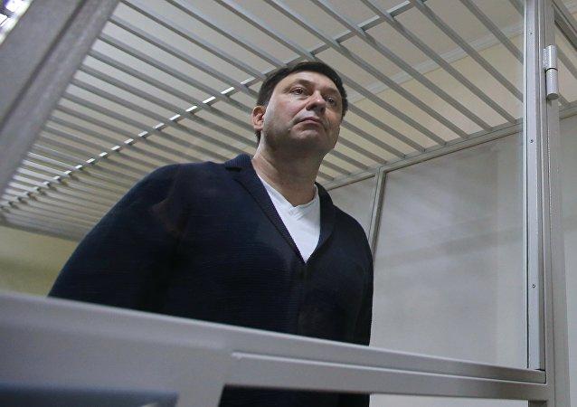 俄外交部:俄方要求基辅立即释放记者维辛斯基