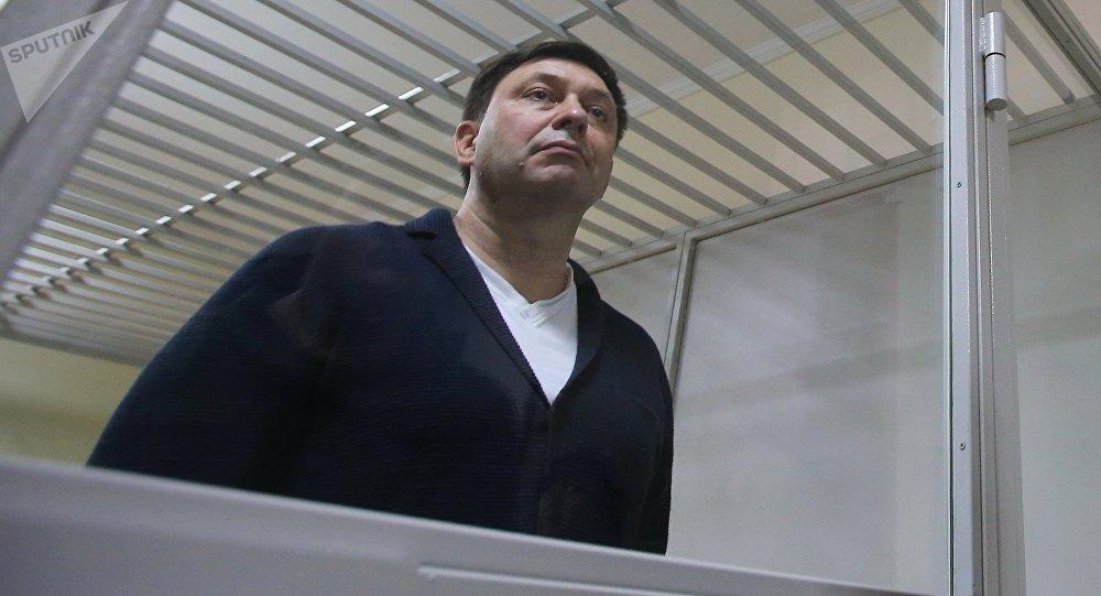 俄外交部:俄方要求基輔立即釋放記者維辛斯基