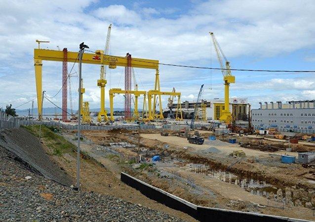 濱海邊疆區遠東紅星造船廠二期建設將在2020年提前完工——俄石油公司